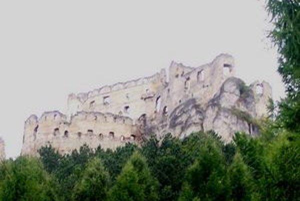 Lietavský hrad.