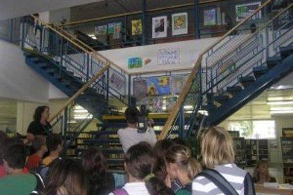 Dni nádeje boli i tento rok v Krajskej knižnici v Žiline.