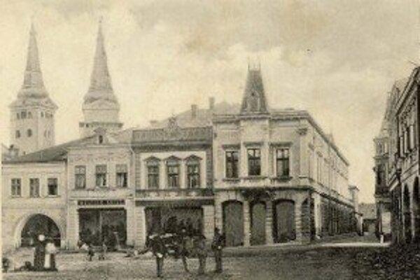 Historická fotografia Radnice v Žiline.