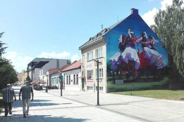 Nová atrakcia v Martine - muralová maľba