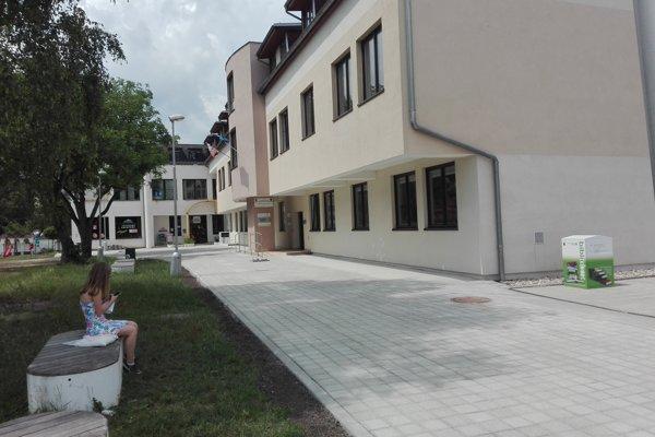 Nový chodník pri Turčianskej knižnici v Martine.