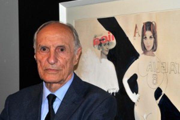 Derniéry výstavy sa zúčastnil aj autor Roberto Malquori.