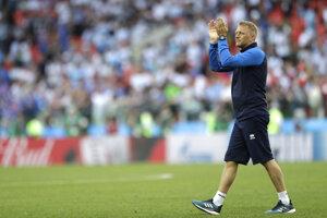Spokojný tréner Islandu Heimar Hallgrimsson.