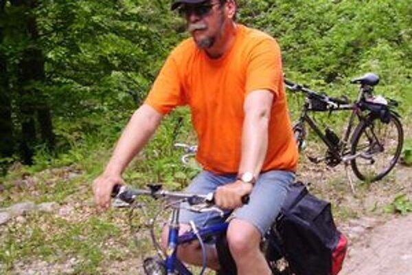 Ľudovít Farkaš má kladný vzťah k bicyklovaniu.