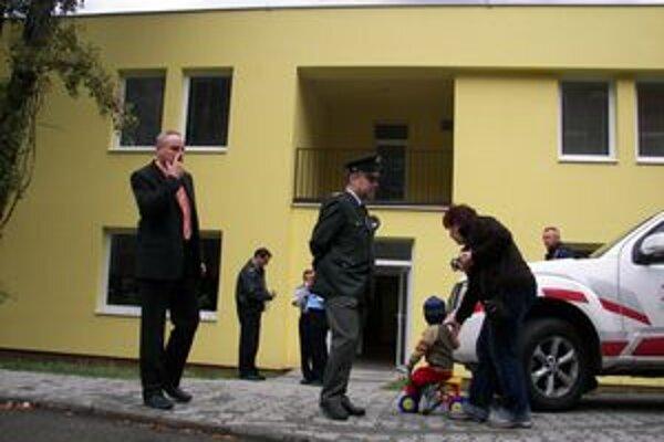 Nová budova mestskej polície na Vlčincoch.