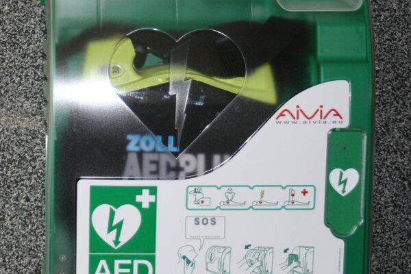 Externý defibrilátor