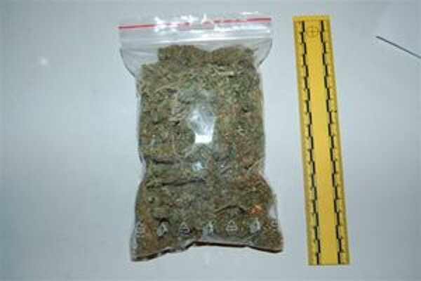 Túto marihuanu našli u mladíka.