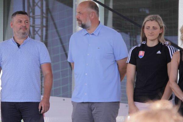 Tibor Adamko (vľavo).