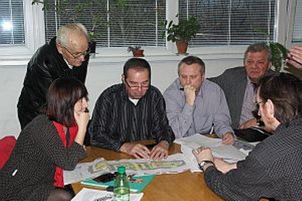 Zo stretnutia výboru mestskej časti.