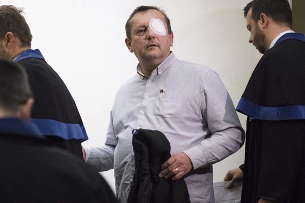 Patrik Pachinger na súde v marci 2018.