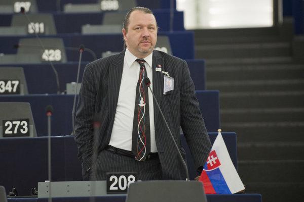 Slovenský europoslanec Branislav Škripek.