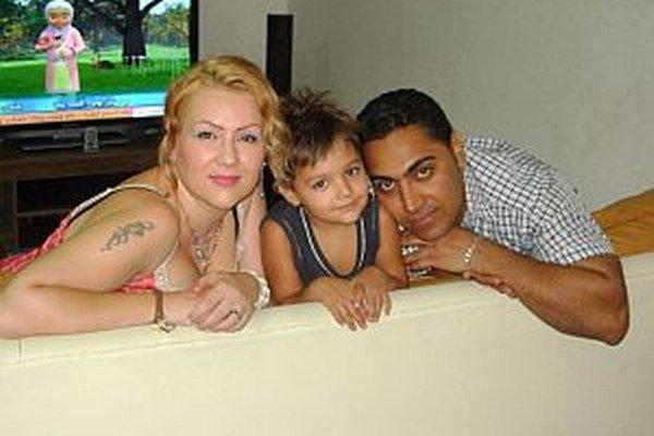 Ivana so svojou rodinkou.