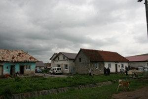 Osada v Hranovnici, na konci obce