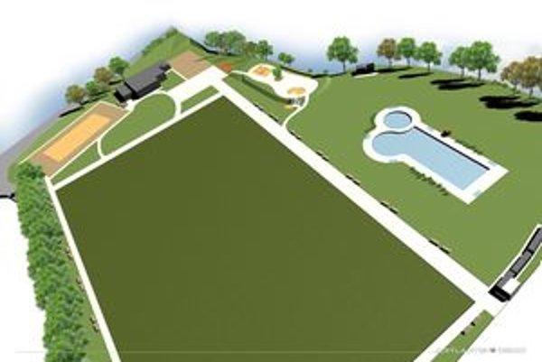 Turie sa chce zmeniť. V centre bude športovo-rekreačný areál.