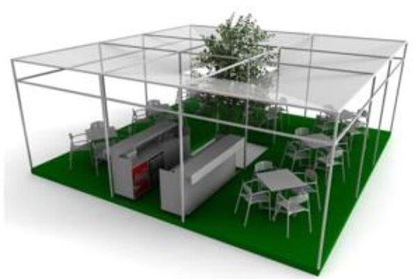 Letné terasy budú v Žiline na Mariánskom námestí od budúceho roku vyzerať jednotne.