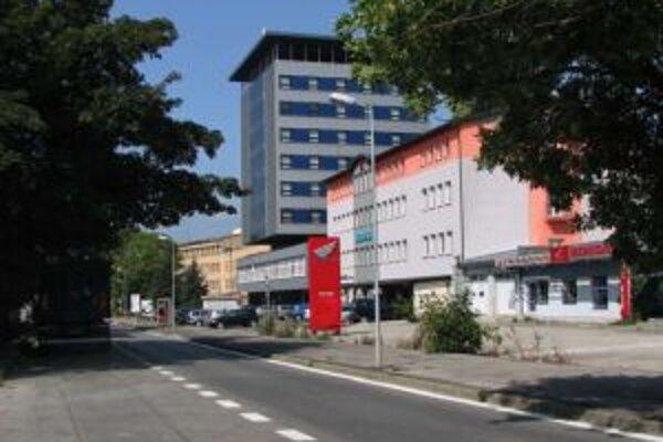 Hotel Fram na Štefánikovej ulici v Žiline.