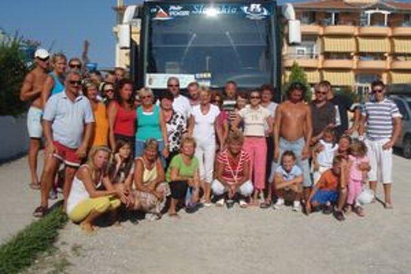 Grécko - spokojní dovolenkujúci.