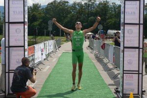 Víťazom jubilejného 10. ročníka Žilinského triatlonu sa stal Orlický.