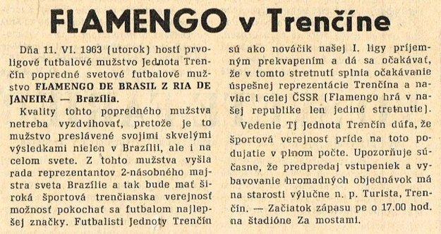 Čo písali dobové Trenčianske noviny v lete 1963