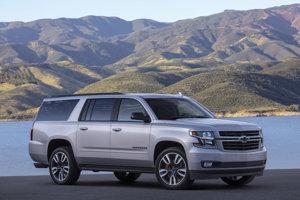 Konvoj mexického prezidenta tvorí 30 Chevroletov Suburban.
