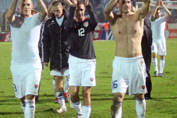 Futbaloví reprezentanti by sa mali v Žiline dočkať žičlivejšiej atmosféry, ako na Tehelnom poli.