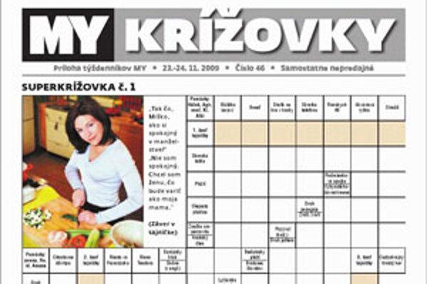 Krížovky nájdete vo vašom týždenníku MY už tento týždeň vo vašej predajni, či novinovom stánku.