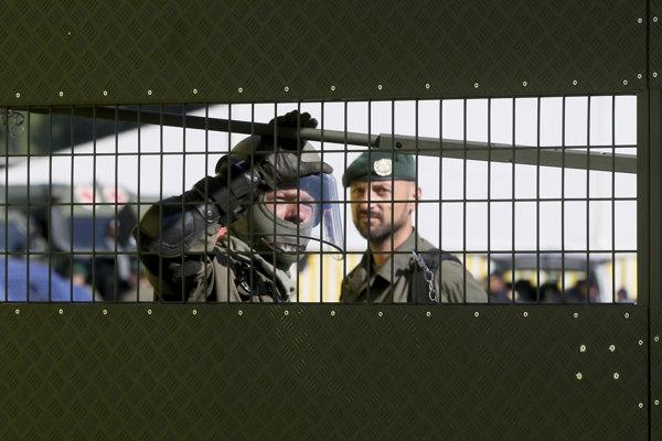 Rakúsko nacvičovalo ochranu hraníc.