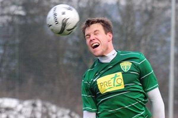 Radoslav Zabavník sa popoludní predstavil po čase v žlto-zelenom drese MŠK.
