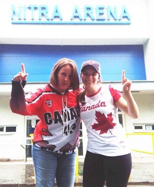 Christine Bell (vľavo) a Shelby Snowden z Kanady.