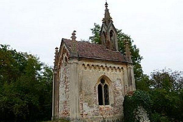 Historický objekt kaplnky.