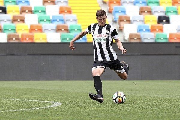 Tomáš Filipiak v drese dorasteneckého tímu Udinese Calcio.