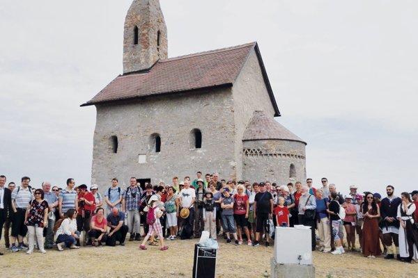 Pútnici sa opäť vydajú po stopách sv. Cyrila aMetoda až ku Kostolu sv. Michala vDražovciach.