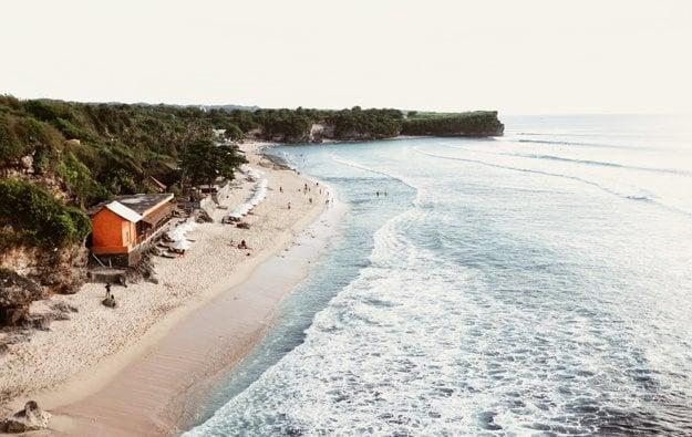 Južná časť ostrova Bali