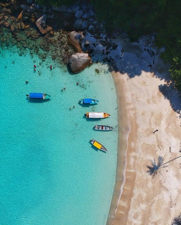 Ostrovy Perhentian, Malajzia