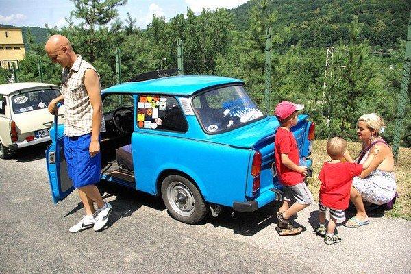 Rodinný výlet absolvovali Lučkovci na trabante viackrát.