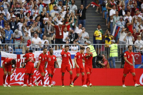 Futbalisti Anglicka postúpili do semifinále na MS v Rusku.
