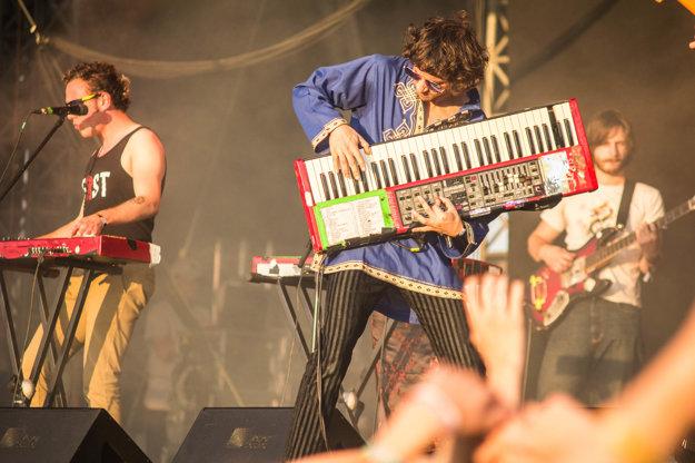 Francúzska kapela La Femme.