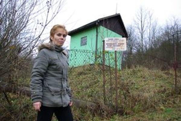 Starostka Hričovského Podhradia Jarmila Dobroňová vyzýva ľudí, aby vodou šetrili.