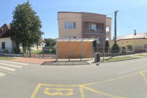 Obec Žbince, centrálna zóna.
