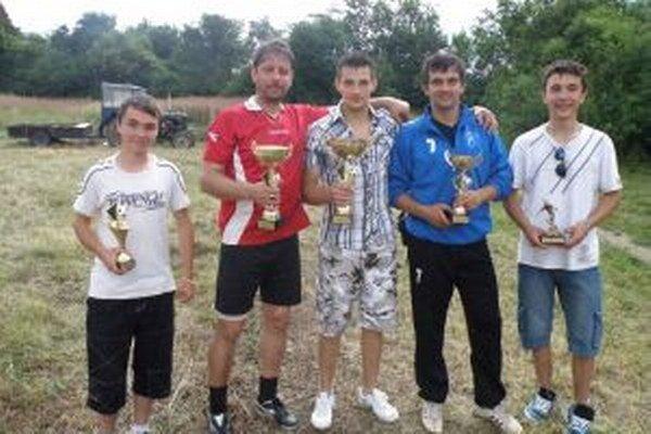 Ocenení hráči z tímov na turnaji v Bodinej.