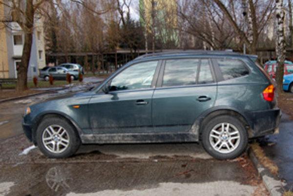 Auto našli zaparkované na sídlisku v Martine.