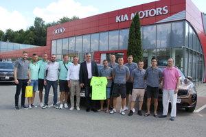 Spolupráca žilinského futbalového klubu a automobilovej predajne pokračuje aj naďalej.