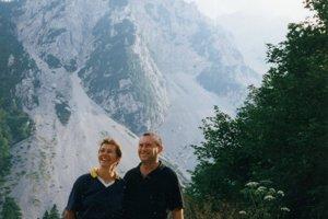 S manželom Dušanom milovali vychádzky do prírody.