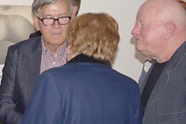 Rudolf Moško je známy z dejín umenia ako vynikajúci krajinár (vpravo).