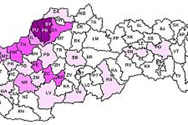 Náš región patrí medzi lokality s najväčším počtom nebezpečných kliešťov.