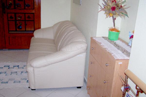 Jedna zo zariadených izieb v Domove sociálnych služieb pre deti a dospelých v Kysuckom Novom Meste.