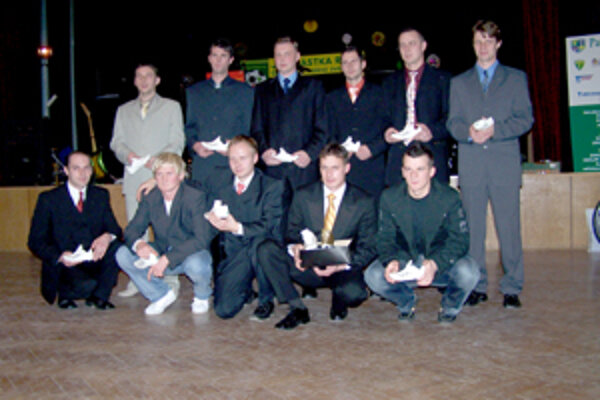 Jedenástka roka 2006 ObFZ Žilina.