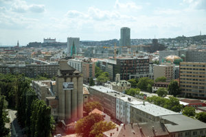 Pohľad na mestskú časť Staré Mesto.