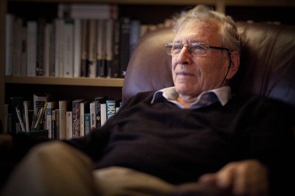 Spisovateľ Amos Oz