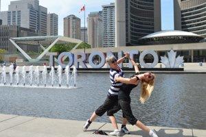 V Toronte si pripísali manželia-tanečníci svetový úspech